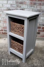 diy mini nursery bookshelf u2013 diystinctly made