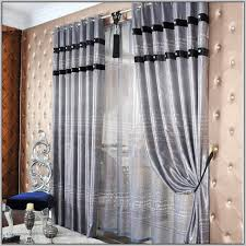 Silver Black Curtains Silver Grey And Black Curtains Gopelling Net