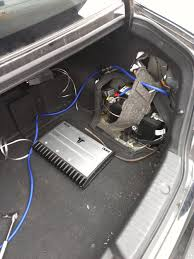how to aftermarket subwoofer u0026 amp hyundai forums hyundai forum
