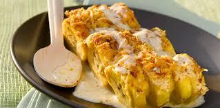 comment cuisiner les bananes plantain bananes plantains gratinées au four facile et pas cher recette