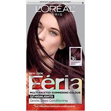 brown cherry hair color amazon com l oréal paris feria permanent hair color 36