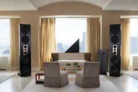 Fine Living Room Home Theater Design Movie Ideas Dark Brown For - Living room home theater design