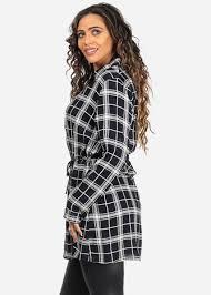 womens tunic top dress shirt to wear with sweater tunic