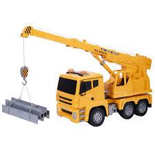 1 18 5ch remote control rc crane heavy construction lifting truck