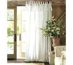 tab tie curtains tie top white linen curtains u2013 rabbitgirl me