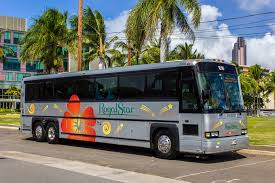 Hawaii travel bus images Royal star hawaii bus charter and tours charter fleet jpg