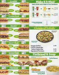 cuisine subway subway menu menu for subway dunbar vancouver urbanspoon zomato