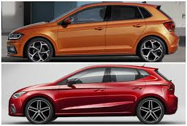 volkswagen polo 2016 red 2018 vw polo vs seat ibiza mqb a0 photo comparison autoevolution