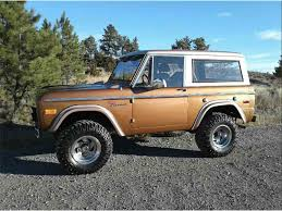 Car For Sale Billings Mt by 1975 Ford Bronco For Sale Classiccars Com Cc 1033819