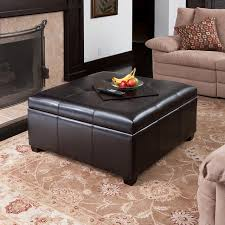 Oversized Ottoman Coffee Table Captivating Leather Ottoman Coffee Tables Design U2013 Leather Ottoman