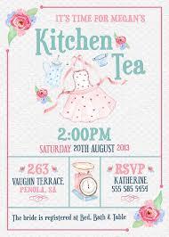 kitchen tea invitation ideas rolling pin kitchen tea invitation with guest names bridal