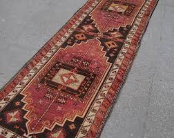 Red Runner Rug Turkish Runner Etsy