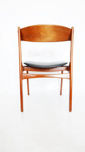 Danish Mid Century Dining Chairs by Mid Century Danish Teak Dining Chairs By Erik Buch 1960s Set Of