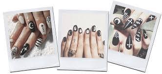 5 unique u0026 chic halloween nail design inspirations
