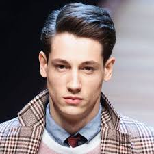 mens middle parting hairstyle latest beautiful side part hairstyles for men