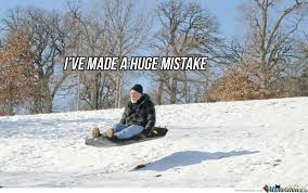 Funny Snow Memes - 25 most funniest sled meme pictures on the internet