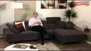 vente unique canapé salon d angle tissu vente unique com