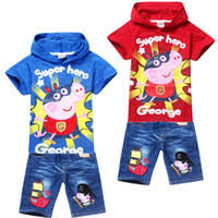 buy free shipping peppa pig pirate george pig cartoon clothes 2014