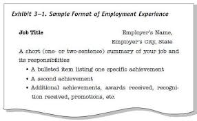 sample resume title sample resume with professional title for job
