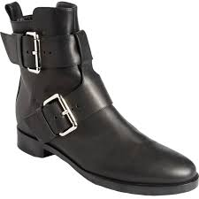 buckle motorcycle boots pierre hardy women u0027s double buckle motorcycle boots in black lyst