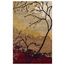 highland tree rug 3 x 5