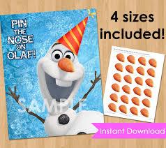 disney frozen birthday party printable instant download pin