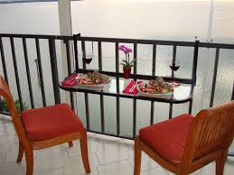 Table For 12 by Space Saving Table For Small Balconies Home Designing