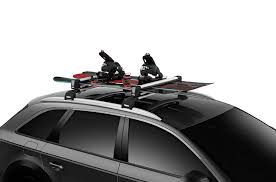 porta snowboard auto thule snowpack 732600 up to 6 pairs of skis or 4 snow boards