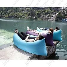 fast inflatable sleeping daybed air camping sofa portable beach
