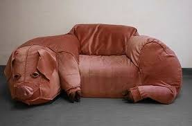 cool couch farm furniture cool couch looks like a giant pig