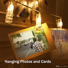 string lights with picture clips led photo clip string lights 5m 40 photo clips perfect for hanging