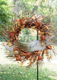 Fall Harvest Outdoor Decorating Ideas - decorating ideas for an outdoor dinner party