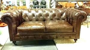 Chesterfield Leather Sofa Bed Brown Leather Chesterfield Sofa Bed Veneziacalcioa5