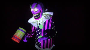barnyard butcher spirit halloween wacky mole clown animated prop youtube