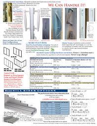6 sliding glass door 8100 narrow style interlock series aluminum sliding glass doors