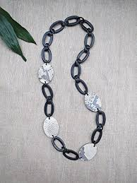 long chunky chain necklace images Black chain necklace long necklace chunky chain necklace black jpg