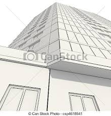 clipart of 3d construction of office building csp4618541 search