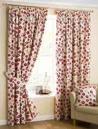 japanese blossom lined curtains red free uk delivery terrys