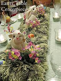 Easter Table Decor Easter Table Centerpiece