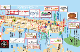 Show Me A Map Of Maryland Map Of Ocean City Maryland Show Me A Map Of The World