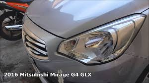2016 mitsubishi mirage g4 attrage glx cvt youtube