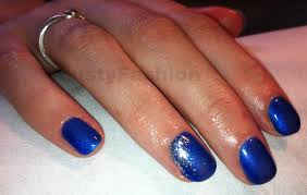 blue shellac nail polish lustyfashion