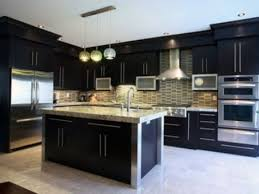 kitchen ideas black cabinets best kitchen ideas with white counters and black cabinets my