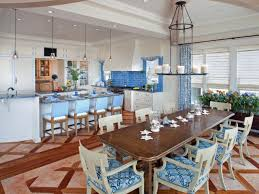 furniture rustic coastal dining room design with long dining