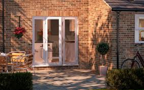Patio Door With Sidelights Sliding And Stacking Patio Door Wooden Double Glazed