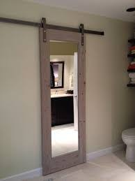 bathroom door ideas small bathroom door solution barn doors hardware pinterest