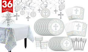 confirmation party supplies blessed day religious party supplies party city