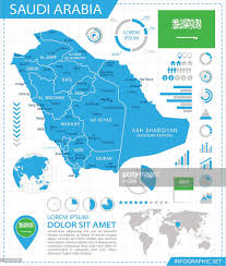 Arabia Map Saudi Arabia Infographic Map Illustration Vector Art Getty Images