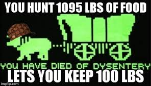 Oregon Trail Meme - curse you scumbag oregon trail imgflip