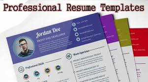 Sample Resume Curriculum Vitae by Download Curriculum Vitae Cv Resume Templates It Classes Online